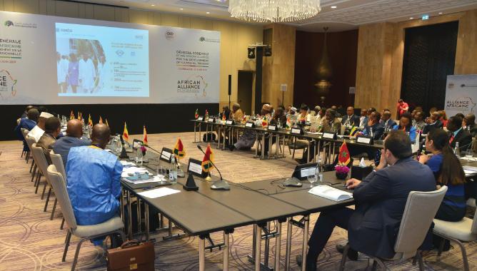 Assemblée Générale de l'Alliance Africaine 20 juin 2019