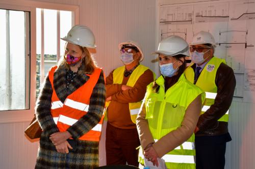 Visite du chantier IPMLI