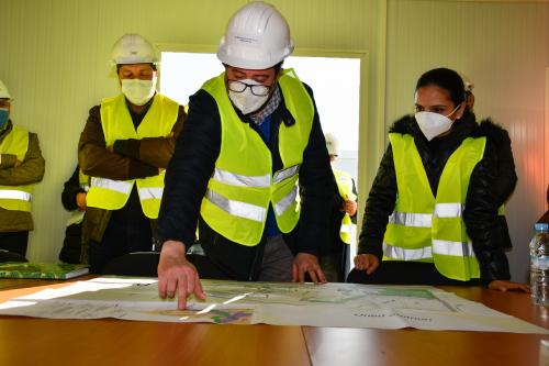 Fahs anjra : visite du chantier IPMLI