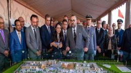 Sa Majesté le Roi Mohammed VI lance les travaux de construction de la Cité des Métiers et des Compétences Souss Massa