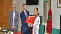 Signature du Mémorandum d'entente entre l'OFPPT et l'Ambassade du Royaume-Uni au Maroc