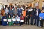 Cérémonie de remise de diplômes aux formateurs gabonais
