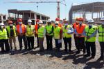 Extension de l'ISMALA : visite d'une délégation américaine