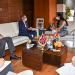 Rencontre de courtoisie : Madame Loubna Tricha s'entretient avec l'ambassadeur du Royaume-Uni
