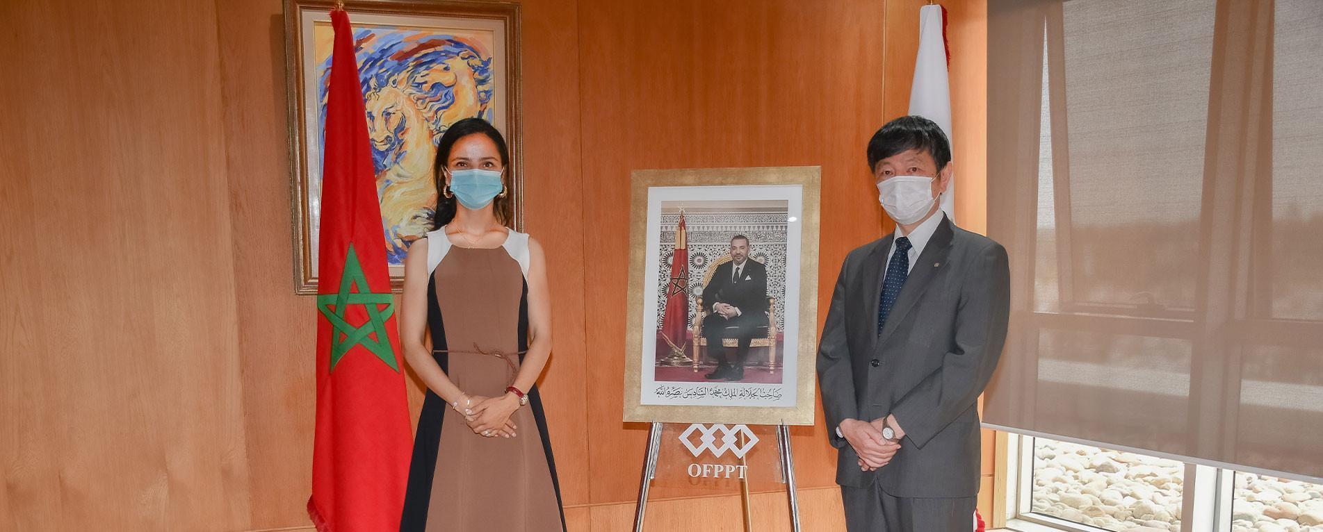 L'OFPPT et l'ambassade du Japon échangent autour des perspectives de collaboration