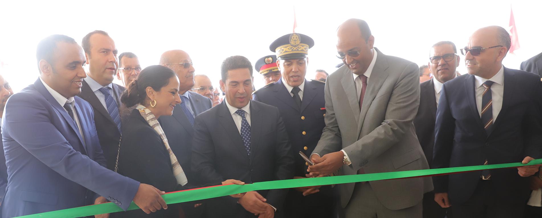 Inauguration de l'ISTA Al-Wahda à l'occasion de la célébration du 44ème anniversaire de la Marche verte