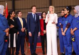 Mme Ivanka Trump visite l'ISMALA