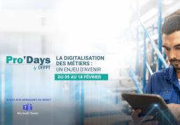 """PRO'DAYS 2021 : """"La digitalisation des métiers, un enjeu d'avenir"""""""