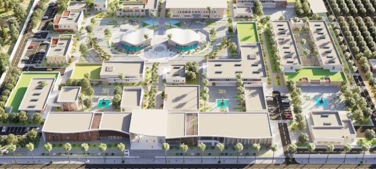 Lancement des travaux de construction de la Cité des Métiers et des Compétences de la région de l'Oriental